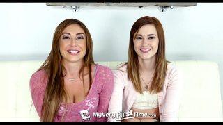 MyVeryFirstTime – Alaina Dawson tries her first threesome with sexy Christiana C